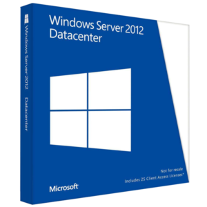 Windows Server 2012 R2 Datacenter MFR # P71-06769 con 10 Cals Remote Desktop Users (Combo)