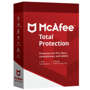 Mcafee Total Protection 2019 Para 10 Pcs Por 1 Año MFR # 6080801