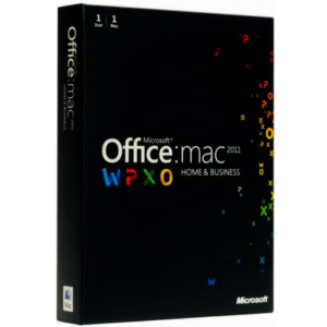 Microsoft Home and Business 2011 - W6F-00198 Para 1 MAC Licencia RETAIL