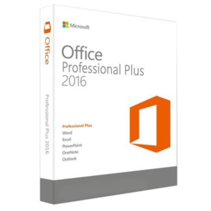 Microsoft Office Professional Plus 2016 Licencia RETAIL 10 Pc