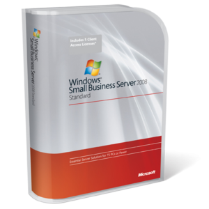 Windows Small Bussiness Server 2008 Standard MFR # T72-02654SP2 1 Pc Licencia RETAIL